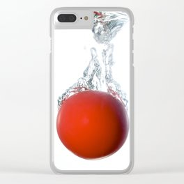 Ball splashing Clear iPhone Case