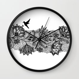 The lace Wall Clock
