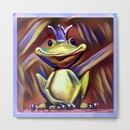 Jon Jade - The Cambodian Tree Frog Metal Print