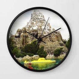 Matterhorn Mountain I Wall Clock