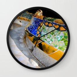 Gaudi Series - Parc Güell No. 1 Wall Clock