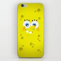 spongebob iPhone & iPod Skins featuring SpongeBob by solostudio