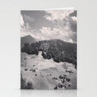 switzerland Stationery Cards featuring Switzerland BW by Heather Hartley