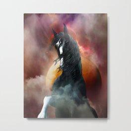 Fantasy Shire Horse Metal Print
