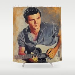 Dick Dale, Music Legend Shower Curtain