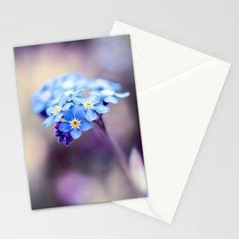 Forget-Me-Not Myosotis Blue Flower Stationery Cards