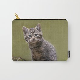 Scottish Wildcat Kitten Carry-All Pouch
