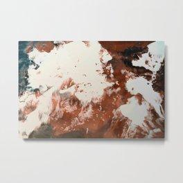 Chai Submersion Metal Print