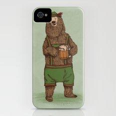 Traditional German Bear iPhone (4, 4s) Slim Case