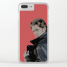 Aaron Tveit (Grease Live) Clear iPhone Case