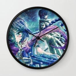 Cold World Wall Clock
