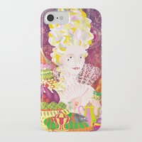 marie antoinette iPhone & iPod Cases featuring Marie-Antoinette by Caroline Krzykowiak