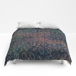 Crystals & Constellations (Nebula) Comforters