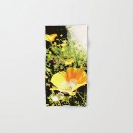 Hana Collection - California Poppy Hand & Bath Towel