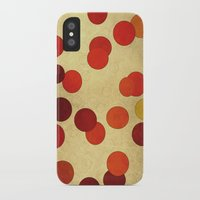 circles iPhone & iPod Cases featuring Circles by SensualPatterns