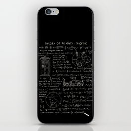 Theory of relativity : spacetime iPhone Skin