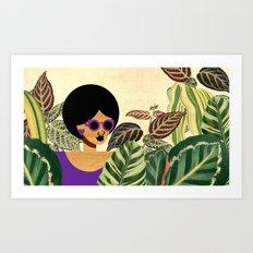 Bayou Girl IV Art Print