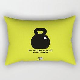 Wakeout Official - Kettlebell Pillow Rectangular Pillow