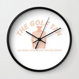 Funny Golf Golfer Club Hobby Player Wall Clock