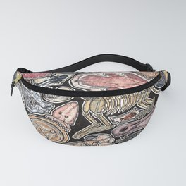 Fossils for history, dinosaur and archaeology lovers Fanny Pack