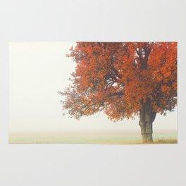 Foggy Autumn Rug