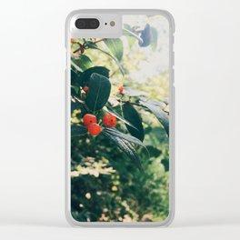 Summer shine Clear iPhone Case