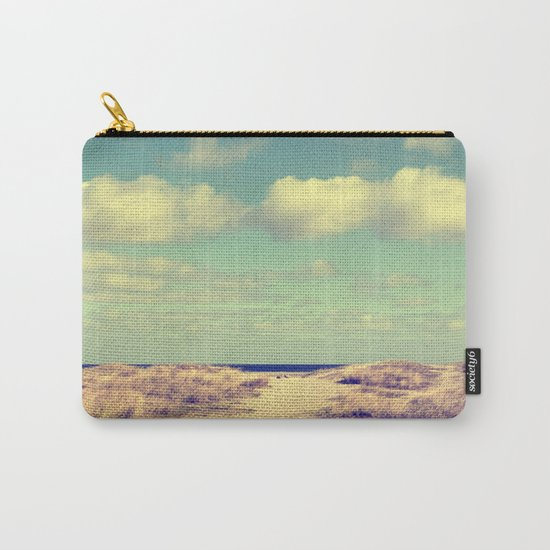 Beach whisper Impression Carry-All Pouch