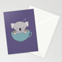Kawaii Cute Koala Bear Stationery Cards