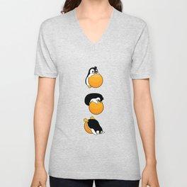 Penguin Ball Nanny Panda Gift Unisex V-Neck