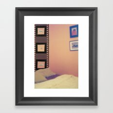 Think Color Framed Art Print
