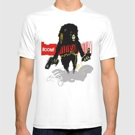 Monkey Go Boom Now T-shirt