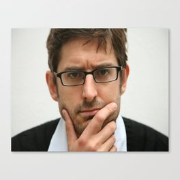 Louis Theroux, from the BBC 2019 Canvas Print