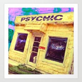 PSYCHIC Art Print