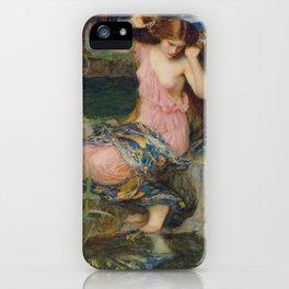 John William Waterhouse Lamia 1909 iPhone Case