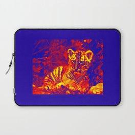 Aztec lion cub Laptop Sleeve