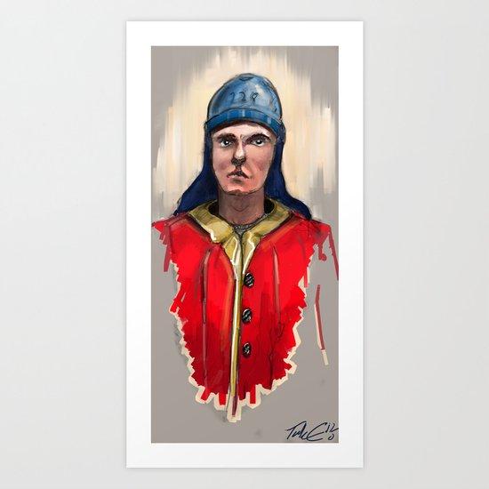 Yard Worker: Royal Navy. Art Print