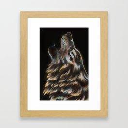 Iridescent Howl Framed Art Print