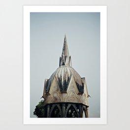 Castello di Masino Art Print