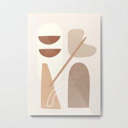 Abstract Shapes No.23 Metal Print