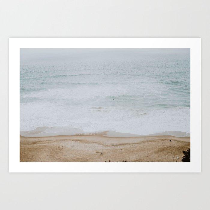 seashore iii / california Kunstdrucke
