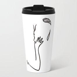 minimal makeout Travel Mug
