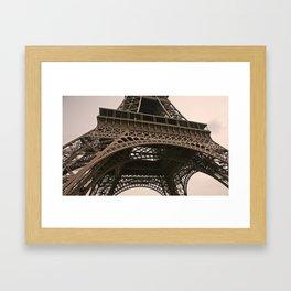 eiffel tower--closeup Framed Art Print