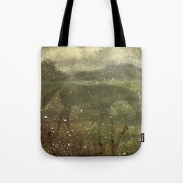 Flora and Fauna Dreamy Collage Tote Bag