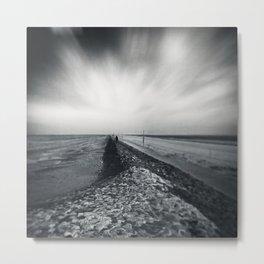 empty sea Metal Print