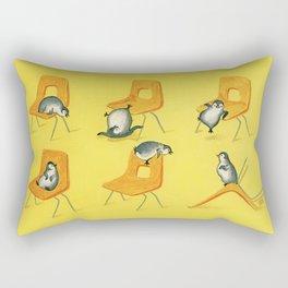 Playful Penguins Rectangular Pillow