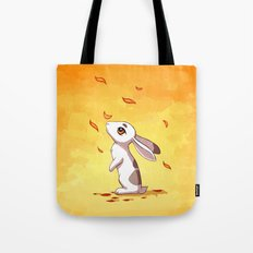 Autumn Hare Tote Bag