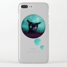 Curiosity Clear iPhone Case