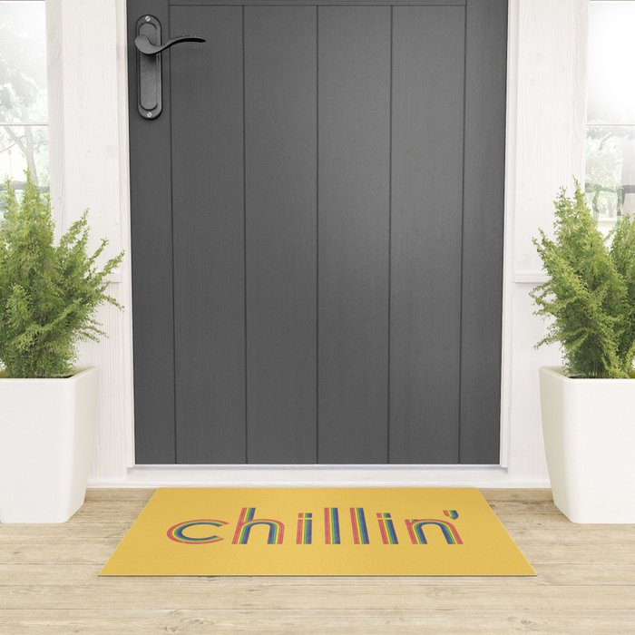 Chillin' Welcome Mat
