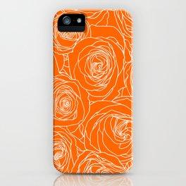 Marmalade Roses iPhone Case