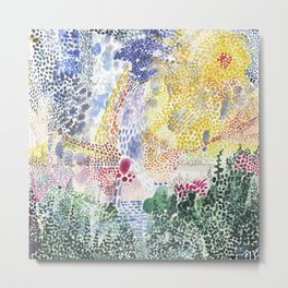 Playfully picturesque Metal Print